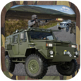 Military Truck Shooting Icon