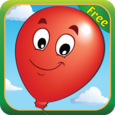 Kids Balloon Pop Game Free Icon