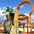 Racing on Bike Free Icon