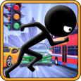 Stickman Crossing Icon