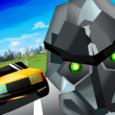 Sahin - Traffic Runner Robot Icon