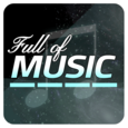 Full of Music(MP3 Rhythm Game) Icon