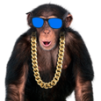 Amazing Monkey Icon