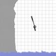 Stickman Cliff Diving Icon