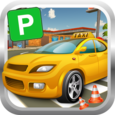 City Taxi Parking Simulator 3D Icon