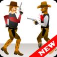 Western Cowboy Gun Blood 2 Icon