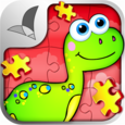 123 Kids Fun™ PUZZLE RED Free Icon