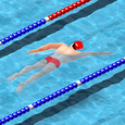 Swimming Race 2016 Icon