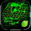 Green Fire GO Keyboard Theme Icon