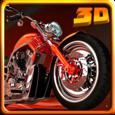 Moto Parking 3D Icon