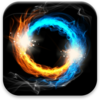 Fire & Ice Live Wallpaper Icon
