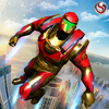 Flying Robot Grand City Rescue Icon