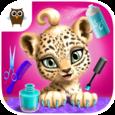 Jungle Animal Hair Salon Icon