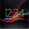 Digital Clock Widget Xperia Icon