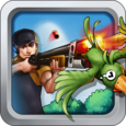 99 Bullets Bird Shooting Icon