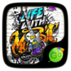 Graffiti GO Keyboard Theme Icon