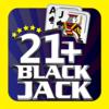 Blackjack 21+ Casino Card Game Icon