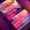 Keyboard -Boto:Colorful Galaxy Icon