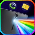 Color Flash Light Alert Calls Icon