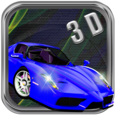 Augmented 3 D car live Paint Icon