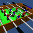 Table Football, Soccer 3D Icon
