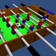 Table Football, Soccer 3D Icon