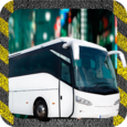 Speed Bus Driving Simulation Icon