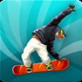 Snowboard Run Icon