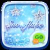 (FREE) GO SMS SNOWFLAKE THEME Icon