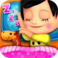 Little Baby Bed Time Icon