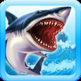 Shark Simulator Beach Attack Icon