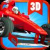 3D Car Racing Icon