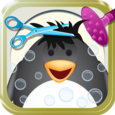 Penguin Hair Salon Icon