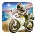 Turbo Motorcycle Star Icon