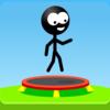 Trampoline Man (Stickman Game) Icon