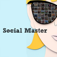 Social Master - Your Manager Icon
