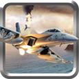 F16 jet Fighter War Missile Icon