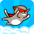 Red Cloak Cat Icon