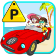Toms Beach Parking Icon
