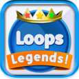 Loops Legends - two dots game Icon