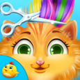 Crazy Cat Makeover Icon