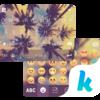 Coconuts Sky Kika Keyboard Icon