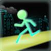 Stick Run Icon