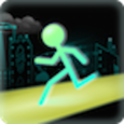 Stick Run Icon