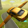 Flying Muscle Car Simulator 3D Icon
