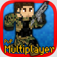 Pixel War Multiplayer Shooter Icon