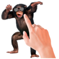 Tickle Talking Monkey Icon