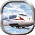 Snow Bullet Train Driving Sim Icon