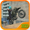Motorbike Stuntman Icon