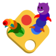 Touch Paint. Zoo Edition Icon